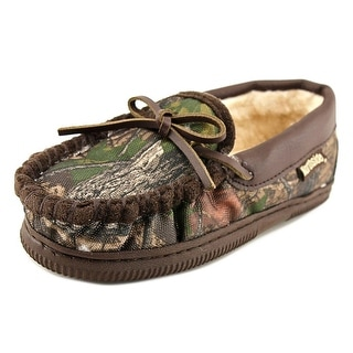 Northside Norwood Youth Round Toe Canvas Brown Slipper