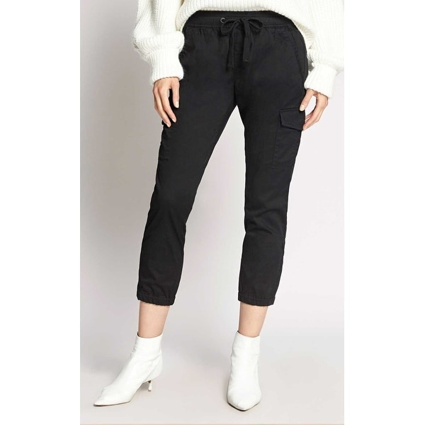 b985e4eb3b Shop Sanctuary Black Womens Size Small S Cargo Jogger Stretch Pants - Free  Shipping On Orders Over $45 - Overstock - 27970589