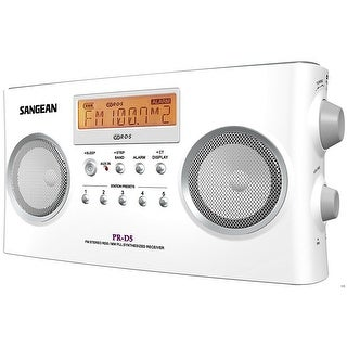 Sangean Digital Tuning Portable Stereo Radio