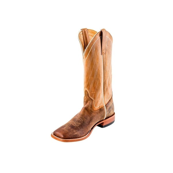 Horse Power Western Boots Mens Roper Diamond Distressed Bison