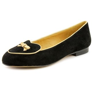 Trotters Cheyenne Round Toe Suede Flats