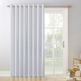 Link to Sun Zero Hayden Patio Extra-Wide Blackout Grommet Sliding Patio Door Curtain Panel Similar Items in Curtains & Drapes