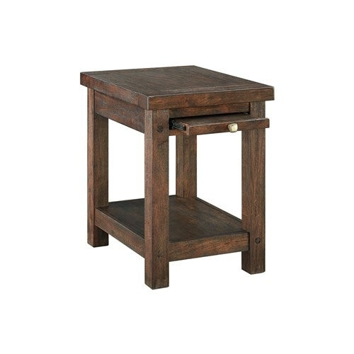 Windville Chair Side End Table T862-7 Windville Chair Side End Table Dark Brown