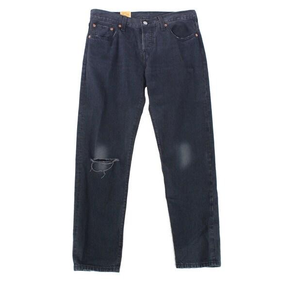 748c9c90 Levi's NEW Womens Size 31 Washed Black Distressed Boyfriend Jeans