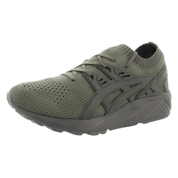ASICS Gel kayano Trainer Mens Blue Suede Athletic Lace up Shoes 10.5