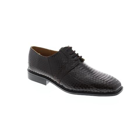 Giorgio Brutini Slaton Brown Mens Oxfords & Lace Ups Plain Toe