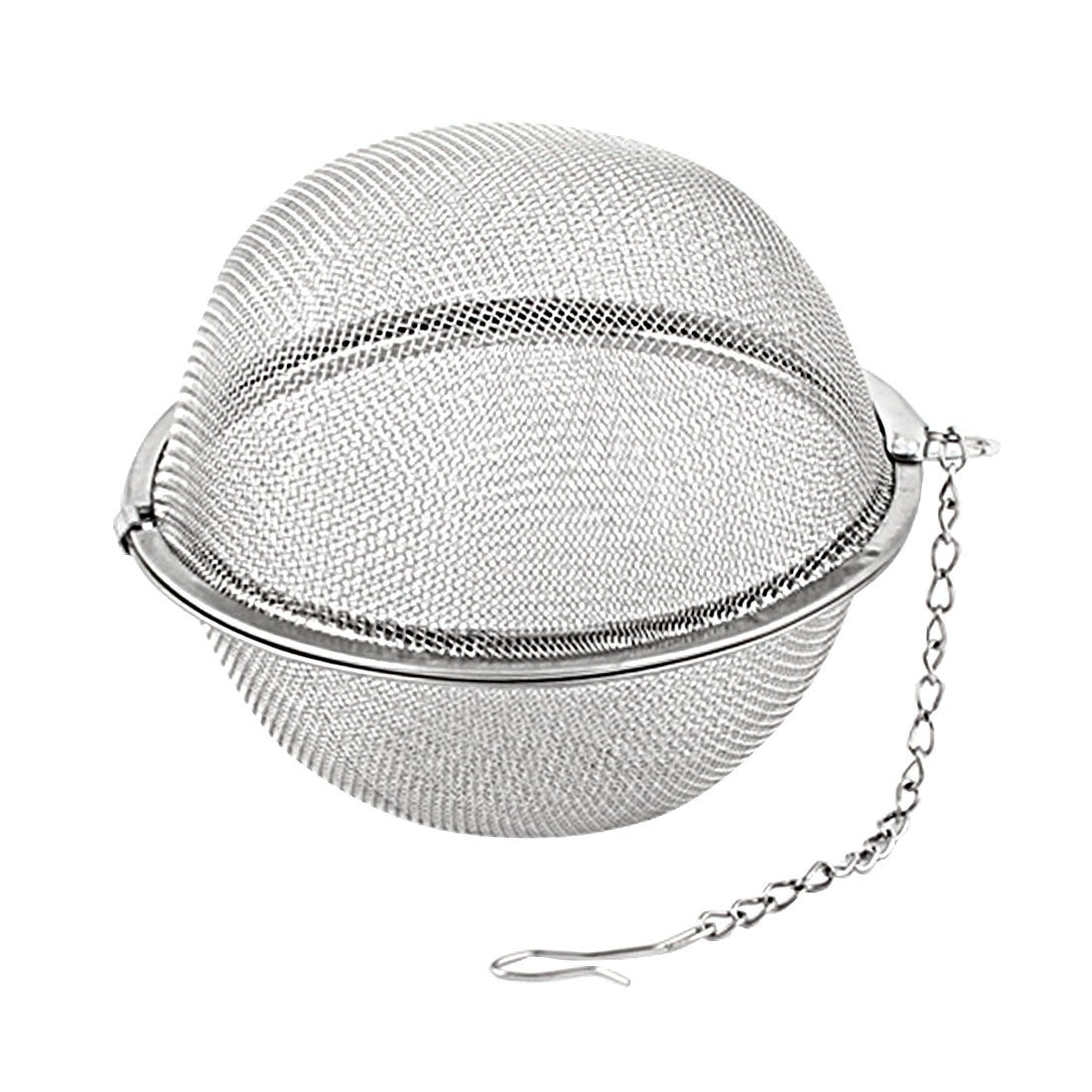 Aiasiry Stainless Steel Mesh Tea Strainer Tea Spacer Diffuser Tea Set Filter,Silver