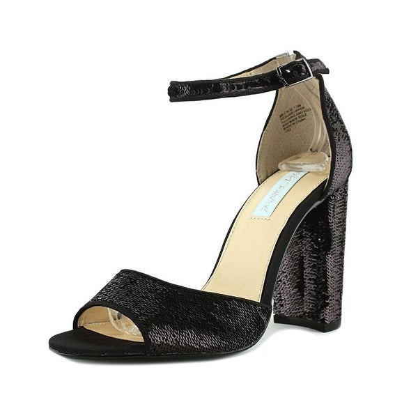Betsey Johnson Calie Women Black Sandals