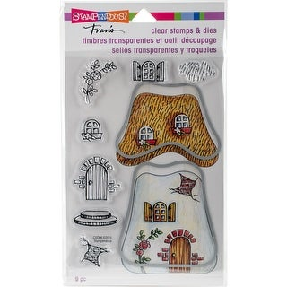 "Stampendous Clear Stamp & Dies 5""X7""-Cottage Home"