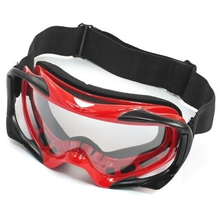 Unique Bargains Sport Adjustable Strap Full Fame Ski Skating Snowboard Goggles Glasses
