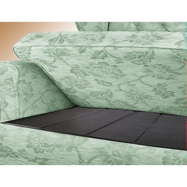 Sagging Love Seat Under Cushion Support - black
