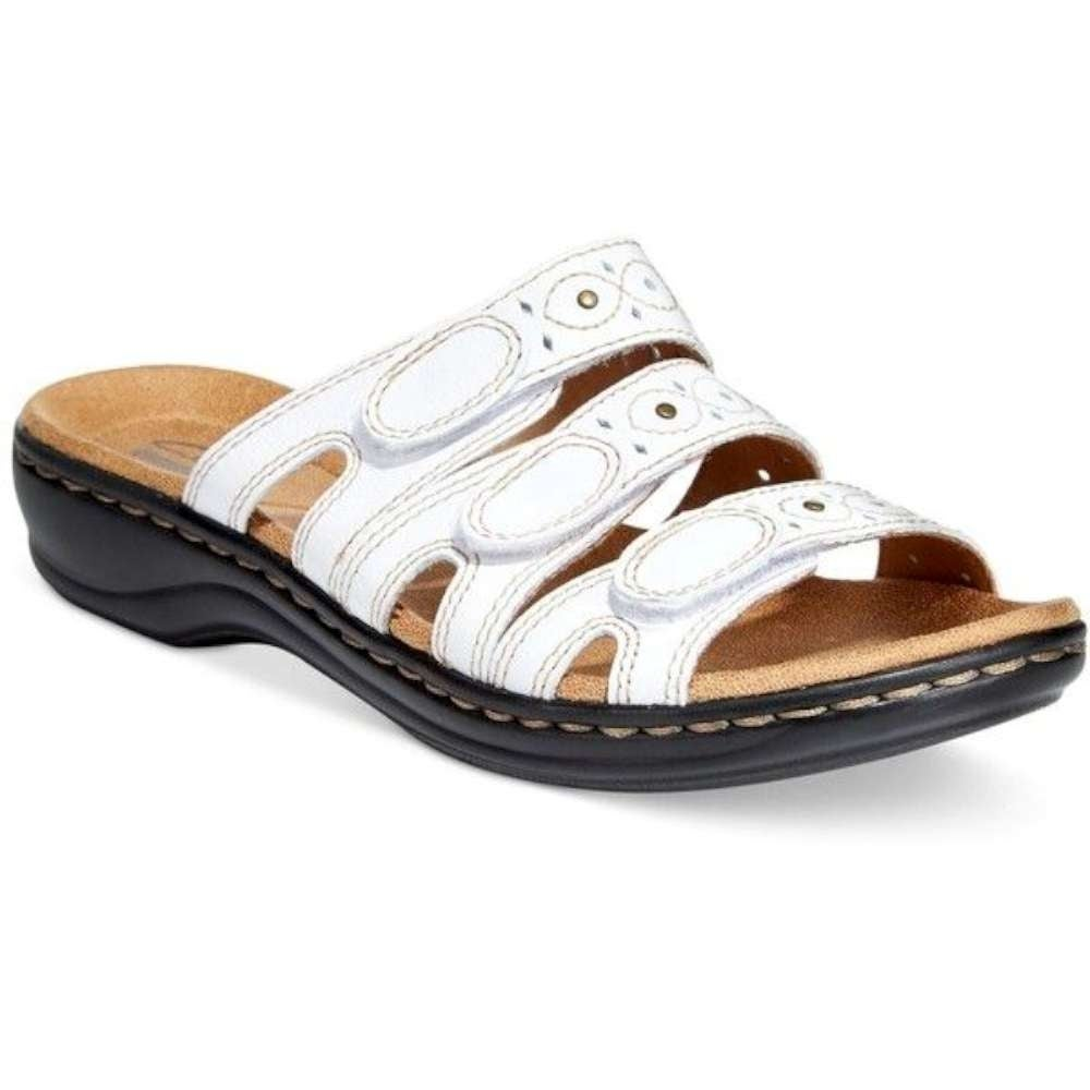 170a814a2c9 Buy White Clarks Women s Sandals Online at Overstock