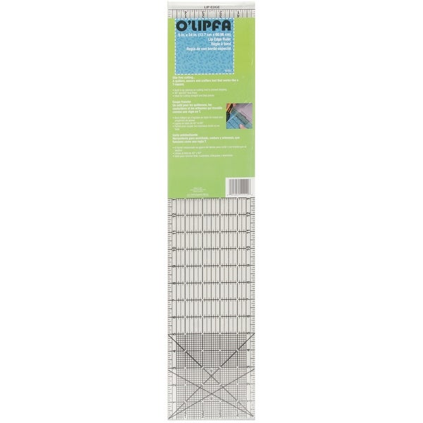 "O'Lipfa Lip Edge Ruler-5""X24"""