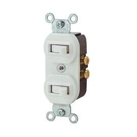 Leviton Wht 1Pole/3-Way Switch