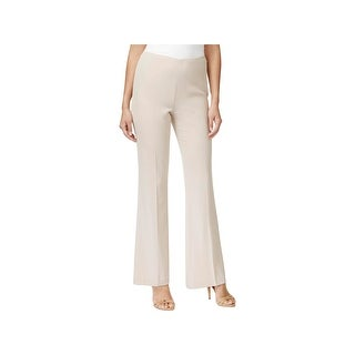 Calvin Klein Womens Pants Solid Flat Front