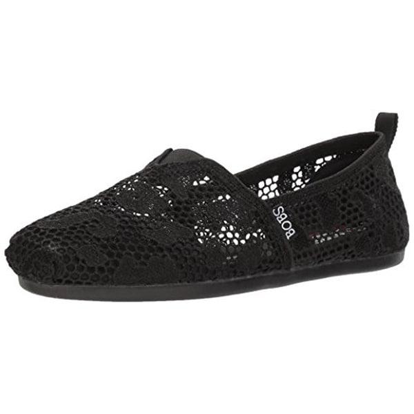 838b47d05841 Shop Skechers Bobs Women s Bobs Plush-Leopard Crochet Ballet Flat ...