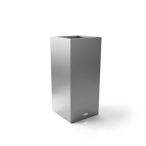Metallic Series Pedestal Planter