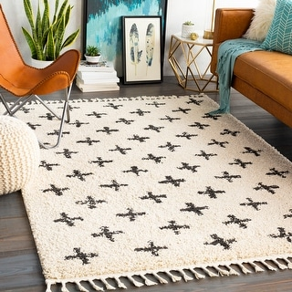 Link to Georgie Moroccan Geo Shag Area Rug Similar Items in Casual Rugs