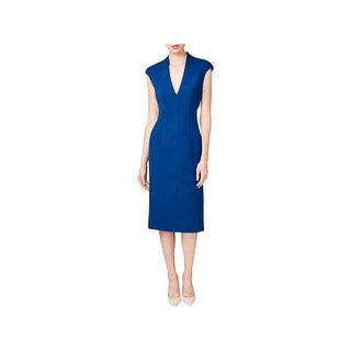 Betsey Johnson Womens Midi Dress Business Wear Office Attire