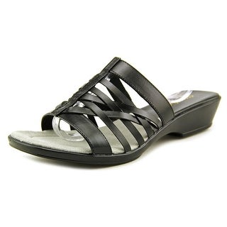Easy Street Seaside W Open Toe Synthetic Slides Sandal