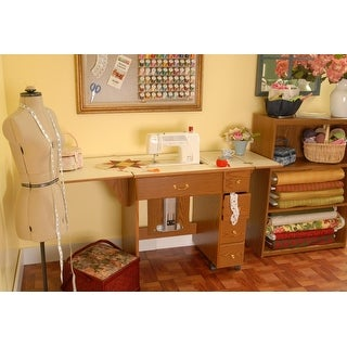 """Link to Arrow 98900 Auntie Oakley Sewing Cabinet - 1"""" x 1"""" x 1"""" Similar Items in Sewing & Quilting"""