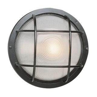 Trans Globe Lighting 41505 Single Light Medium Round Outdoor Bulk Head from the Outdoor Collection