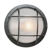 Trans Globe Lighting 41505 Single Light Medium Round Outdoor Bulk Head from the Outdoor Collection