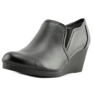 Life Stride Never   Open Toe Synthetic  Wedge Heel