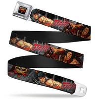 Street Fighter V Full Color Black Yellow Red Fade Street Fighter V Ryu Seatbelt Belt