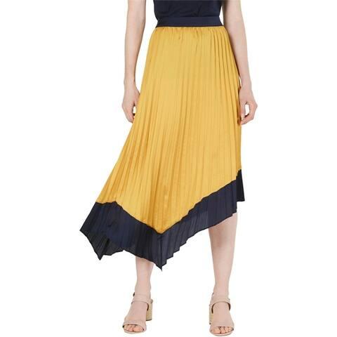 Bar Iii Womens Tipped Asymmetrical Skirt