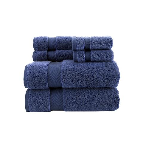 Towels Beyond Turkish Cotton, Set of 6 Bath & Hand Towels, Washcloths