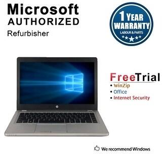 "Refurbished HP EliteBook Folio 9470M 14.0"" Intel Core i5-3427U 1.80GHz 4GB DDR3 320GB Win 10 Pro 64 Bits 1 Year Warranty"