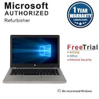 "Refurbished HP EliteBook Folio 9480M 14.0"" Intel Core i5-4310U 2.00GHz 8GB DDR3 240GB SSD Win 10 Pro 64 Bits 1 Year Warranty"