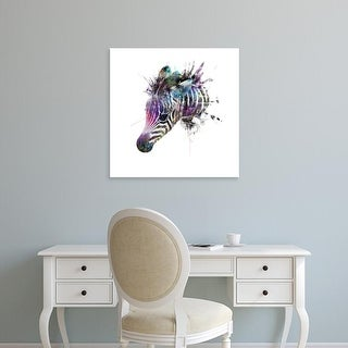 Easy Art Prints VeeBee's 'Zebra' Premium Canvas Art