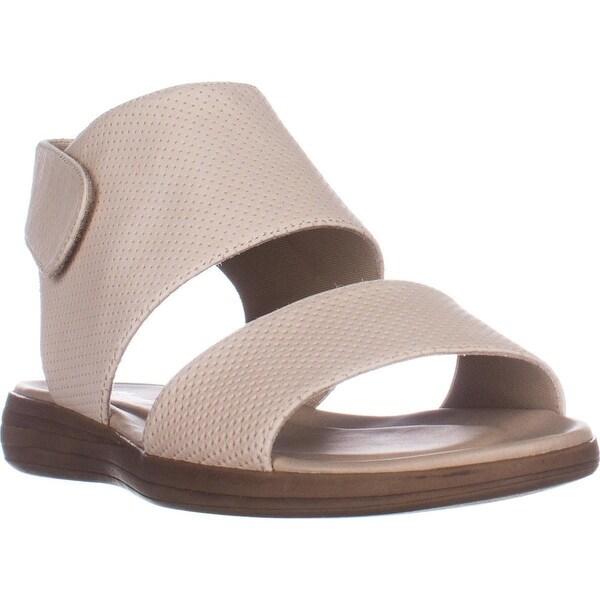 naturalizer Fae Flat Comfort Sandals, Porcelain Leather