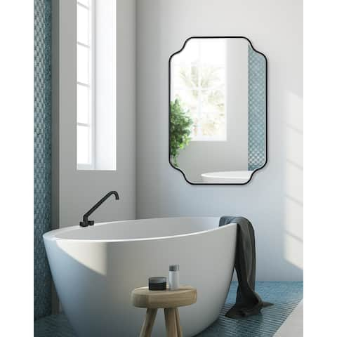 Kate and Laurel Plumley Framed Wall Mirror