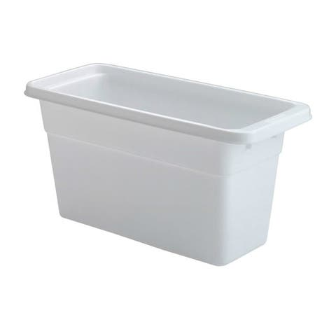 Rubbermaid 2862-RD-WHT Ice Cube Bin, White