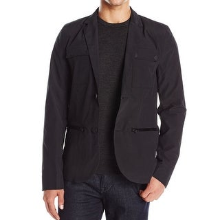 Kenneth Cole Reaction NEW Black Mens Size Small S Slim Blazer Jacket