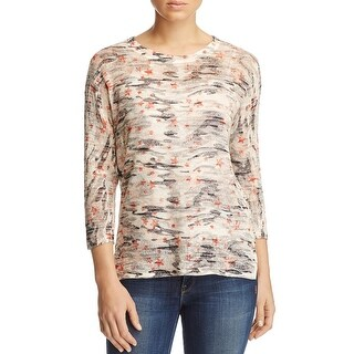Nally & Millie Womens Tunic Sweater Hi-Low Print (2 options available)