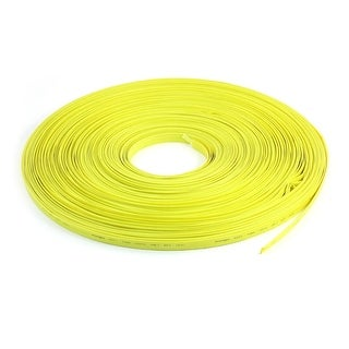 100M Yellow Polyolefin 8mm 2:1 Halogen-Free Heat Shrink Tubing 600V 125C