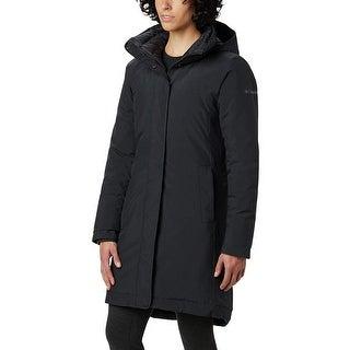 Link to Columbia Women's Hillsdale Reversible Parka, Black ,Medium Similar Items in Women's Outerwear