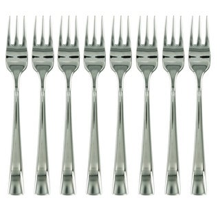 ZWILLING J.A. Henckels Bellasera 8-pc 18/10 Stainless Steel Seafood Fork Set - STAINLESS STEEL