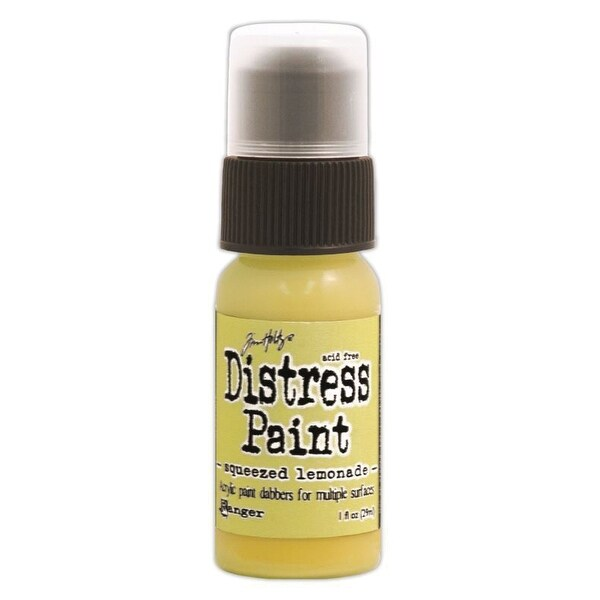 Distress Paint Dabber 1oz-Squeezed Lemonade - YELLOW