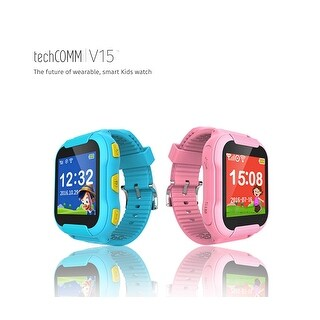 TechComm V15 Kids Smartwatch with Built-in Microphone for T-Mobile ONLY