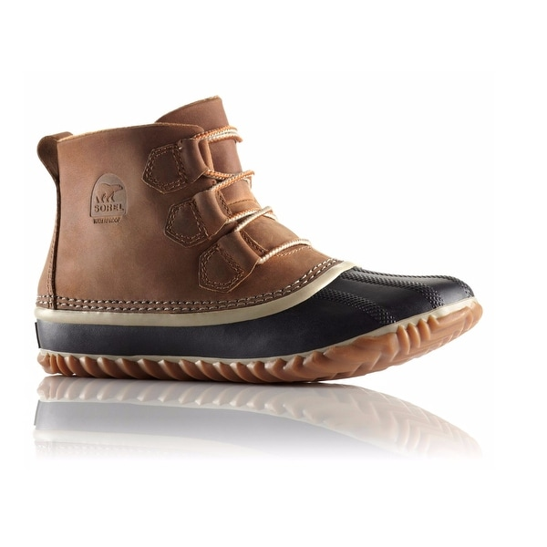 Sorel Out N About Leather Women Winter Boot - Elk