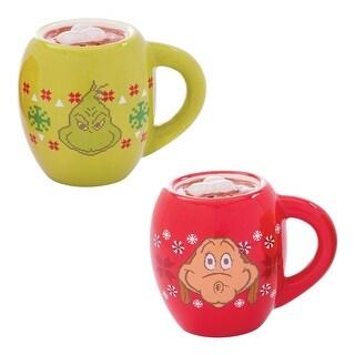 Dr. Seuss Grinchmas Ugly Sweater Salt & Pepper Shaker Set