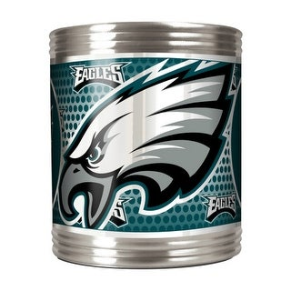 Great American Products Philadelphia Eagles Can Holder Stainless Steel Can Holder