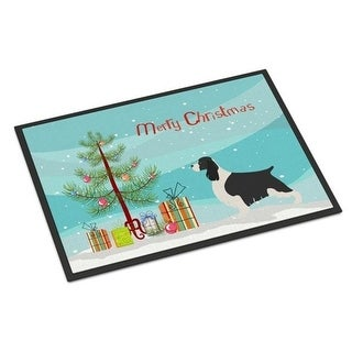 Carolines Treasures BB8435MAT English Springer Spaniel Christmas Indoor or Outdoor Mat - 18 x 27 in.