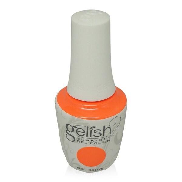 Gelish - Soak-Off Gel Polish Coral Neon Creme-I'M Brighter Than You