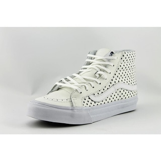Vans Sk8-Hi Slim Round Toe Leather Sneakers
